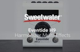 Eventide H9 Effects Pedal Tweaking by Daniel Fisher