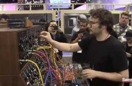 Moog Modular System 55 Demonstration – Sweetwater at Winter NAMM