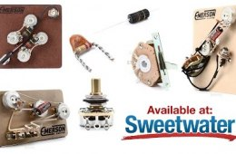Emerson Custom Guitar Electronics Review by Sweetwater