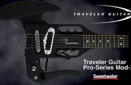 Traveler Guitar Pro Series Mod-X Travel Guitar Demo by Sweetwater