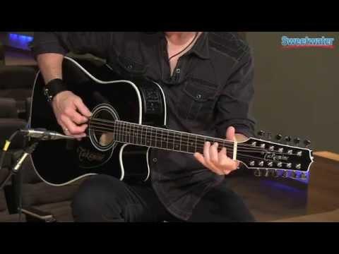 takamine ef381sc 12 string acoustic electric guitar demo sweetwater. Black Bedroom Furniture Sets. Home Design Ideas