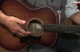 Summer NAMM 2015: Taylor 300 Series LE Baritone Guitar Overview by...
