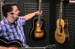 Winter NAMM 2016: Fender Paramount Acoustic Guitars