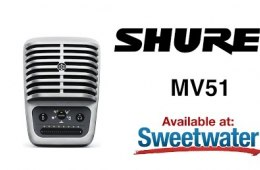 Shure MV51 USB Microphone Overview by Sweetwater