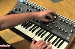 Moog Sub 37 Synthesizer Tweaking by Daniel Fisher