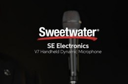 sE Electronics V7 Handheld Dynamic Microphone Overview