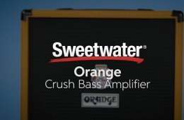 Orange Crush Bass Amplifier Line Demo