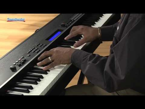 Yamaha cp4 stage 88 note wooden key stage piano demo for Yamaha cp4 stage 88 key stage piano