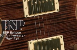 ESP Eclipse 40th Anniversary Guitar in Tiger Eye, Reviewed by Sweetwater