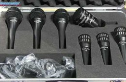 Audix BP7 Pro 7-pc Microphone Pack Overview
