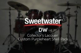 DW Collector's Lacquer Custom Purpleheart Shell Pack Review
