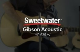 Gibson Acoustic HP 635 W Acoustic-electric Guitar Demo