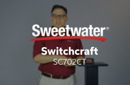 Switchcraft SC702CT Direct Box Overview by Sweetwater