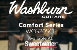 Washburn Comfort Series WCG20SCE Acoustic-electric Guitar Demo by Sweetwater