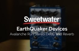 EarthQuaker Devices Avalanche Run Delay/Reverb Pedal Demo