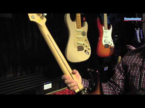 Fender 60th Anniversary Commemorative Stratocaster – Sweetwater at Winter NAMM 2014