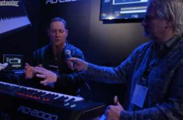 Roland RD-2000 Digital Piano at Winter NAMM 2017