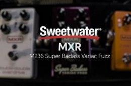 MXR M236 Super Badass Variac Fuzz Pedal Demo