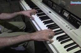 Yamaha P-255 Digital Stage Piano Demo – Sweetwater at Winter NAMM 2014