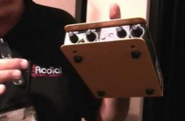 Sweetwater at Winter NAMM 2012 – Radial Engineering Firefly Tube...