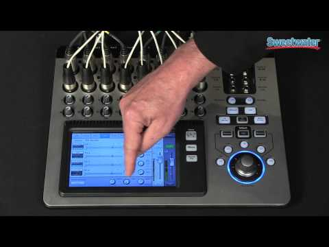qsc touchmix 16 digital mixer overview sweetwater. Black Bedroom Furniture Sets. Home Design Ideas