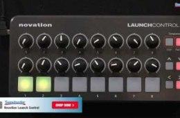 Novation Launch Control USB Control Surface Demo
