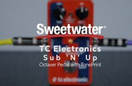 TC Electronic Sub 'N' Up Octave Pedal Demo by Sweetwater
