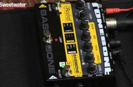 Radial Bassbone V2 2-ch Bass Preamp and DI Review by Sweetwater Sound