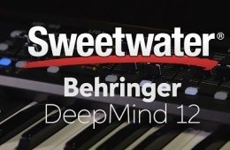 Behringer DeepMind 12 Synthesizer Demo