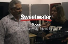 BOSS GT-1 Guitar Multi-effects Pedal Overview