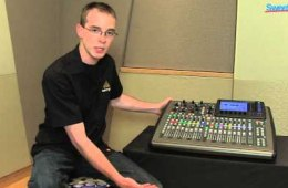 Behringer X32 Compact Digital Mixer Overview at GearFest '13