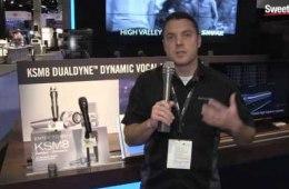 Winter NAMM 2016: Shure KSM8 Dualdyne Microphone