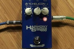 TC-Helicon Harmony Singer Vocal Harmony/Reverb Pedal