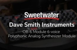 Summer NAMM 2016: Dave Smith Instruments OB-6 Module 6-voice...