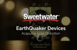 EarthQuaker Devices Acapulco Gold Distortion Pedal Demo