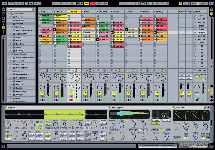 ableton live lite 5 upgrade. Black Bedroom Furniture Sets. Home Design Ideas