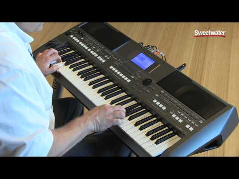 Keyboard Workstation Vs Daw : yamaha psr s670 arranger keyboard workstation demo by sweetwater sweetwater ~ Russianpoet.info Haus und Dekorationen