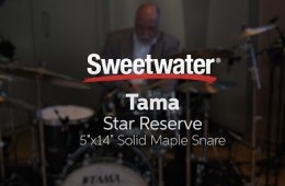 Tama Star Reserve Snare Demo with Peter Erskine