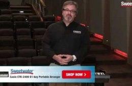 Sweetwater's Casio CTK-2400 61-key Portable Arranger Keyboard Demo