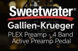 Gallien-Krueger PLEX 4-band Active Preamp Pedal Demo
