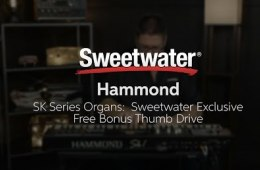 Hammond SK Series Organs Sweetwater Exclusive Free Bonus Thumb Drive