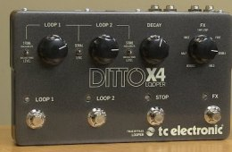 TC Electronic Ditto Looper X4 Looper Pedal Demo by Sweetwater