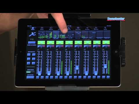 behringer x32 rack digital rack mixer demo sweetwater. Black Bedroom Furniture Sets. Home Design Ideas