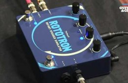Pigtronix Rototron Rotary Speaker Effects Pedal Review...