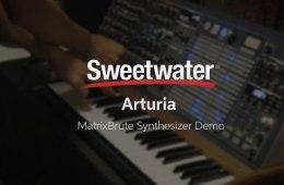Knobcon 2016: Arturia MatrixBrute Synthesizer Demo