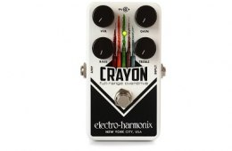 Electro-Harmonix Crayon Overdrive Pedal Review by Sweetwater