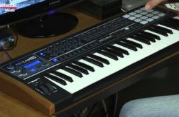 Arturia KeyLab 49 Limited Edition Black Keyboard Controller Review by...