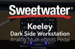 Keeley Dark Side Workstation Analog Multi-effects Pedal Demo