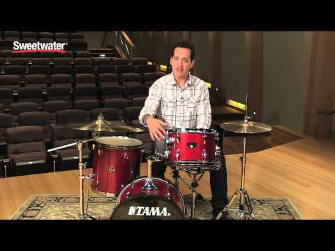 tama imperialstar bop acoustic drum kit review sweetwater. Black Bedroom Furniture Sets. Home Design Ideas