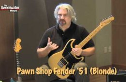 Sweetwater Minute – Vol. 110, Fender Pawn Shop Demo